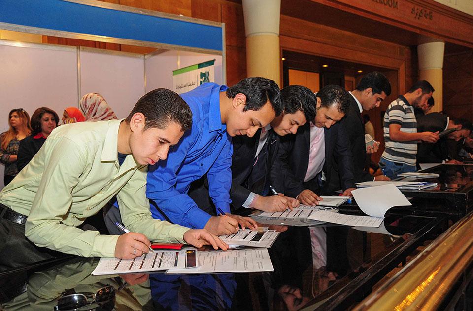 14e forum pour l emploi ahram hebdo for Chambre de commerce francaise en egypte