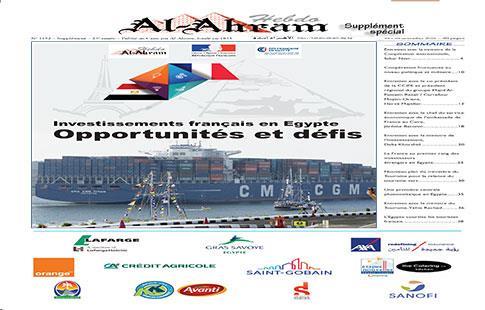Conf rence investissements fran ais en egypte for Chambre de commerce francaise en egypte
